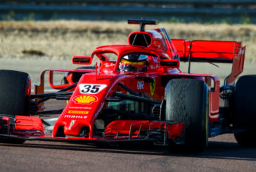 Fórmula 1: Shwartzman impresiona con el SF71H en test de Ferrari en Fiorano