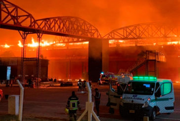 Termas de Río Hondo envuelto en llamas