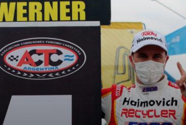 TC: Werner no tuvo sobresaltos y se llevó la victoria