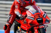 MotoGP: Bagnaia saca las garras en los Libres 2