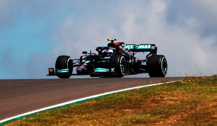 Fórmula 1: Mercedes arrancó arriba en Portugal