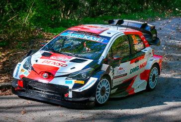 WRC: Evans fue el más rápido en el Shakedown de Croacia