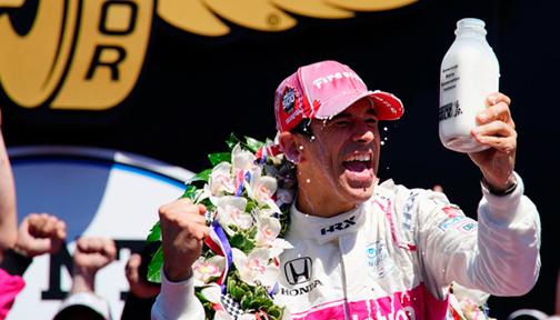 Indy Car: Helio Castroneves gana Indy 500 por cuarta vez