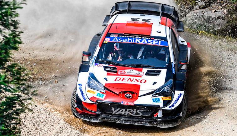 WRC: Evans le arrebata la punta a Tänak tras abandonar en el último tramo
