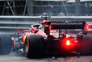 Fórmula 1: Leclerc le da a Ferrari la primera pole desde 2019 y sufre un accidente
