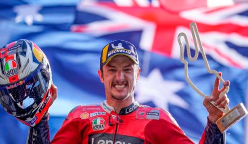 MotoGP: Jack Miller gana en Le Mans tras la caída de Marc Márquez