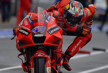MotoGP: Jack Miller arriesgó y ganó en el primer ensayo de MotoGP en Francia