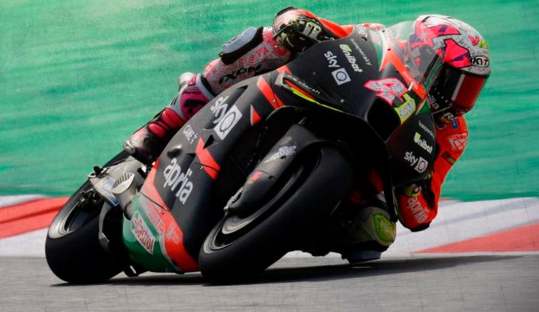 MotoGP: Aleix Espargaró arrancó el viernes bien arriba
