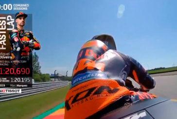 MotoGP: Oliveira dominó los ensayos del viernes de MotoGP