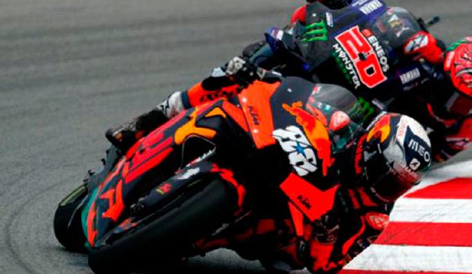 MotoGP: Oliveira sorprendió a los favoritos y ganó en Montmeló