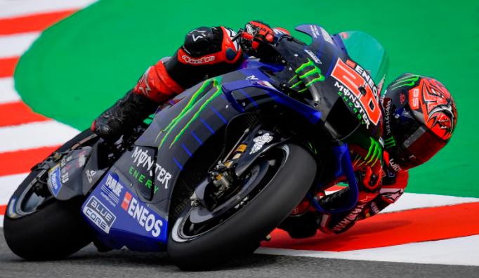 MotoGP: Aplastante pole position de Quartararo en Montmeló