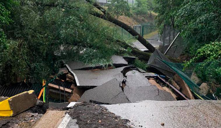 Fórmula 1: Nuevos y graves daños en Spa-Francorchamps tras la inundación