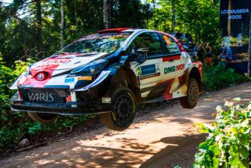 WRC: Rovanperä y Toyota siguen al frente en Estonia