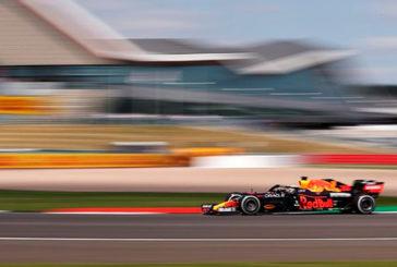 Fórmula 1: Verstappen domina en los únicos libres del viernes en Silverstone