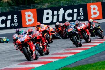 MotoGP: Brad Binder conquistó el Red Bull Ring