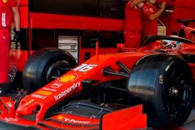 Fórmula 1: Prueba de neumáticos 2022 en Hungría