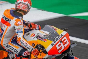 MotoGP: A pesar del accidente, Márquez empieza con fuerza