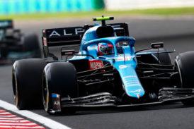 Fórmula 1: Ocon logra su primera victoria en F1 'gracias' a Fernando Alonso en un legendario GP de Hungría