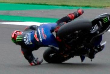 MotoGP: Con caída incluida, Quartararo se queda con los Libres 2