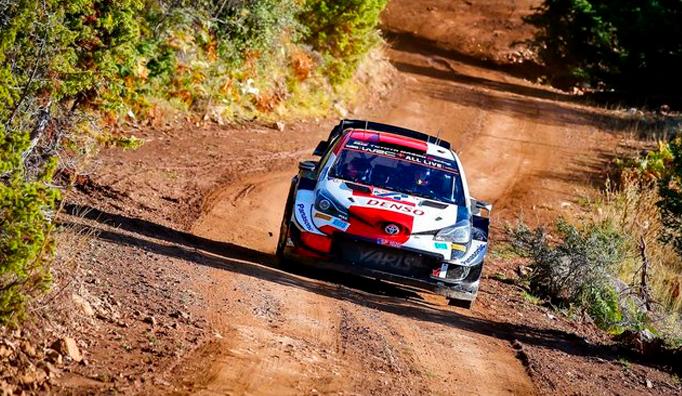 WRC: Rovanperä sigue al frente en Grecia