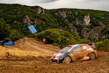 WRC: Rovanperä es líder y Evans con problemas