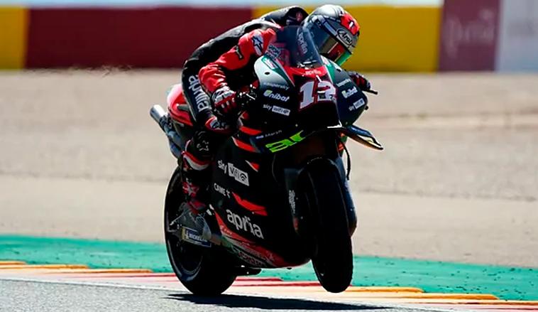 MotoGP: Viñales sorprende y se queda con el viernes