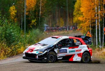 WRC: Evans saca su lado salvaje para liderar el Rally de Finlandia