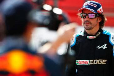 Fórmula 1: Fernando Alonso muestra su apoyo a La Palma con un nuevo casco
