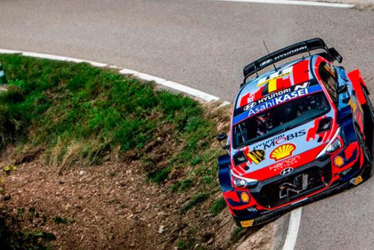 WRC: Thierry Neuville estira su ventaja al frente del Rally RACC