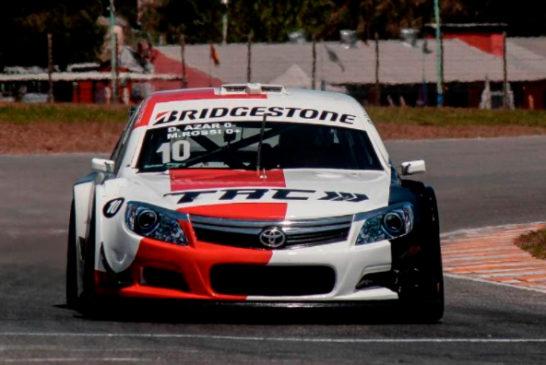 TRV6: Con el Toyota, Azar y Rossi hicieron la «pole»